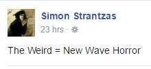 Simon Strantzas Manifesto